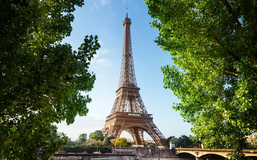 2. Eiffel Tower - France Landmarks