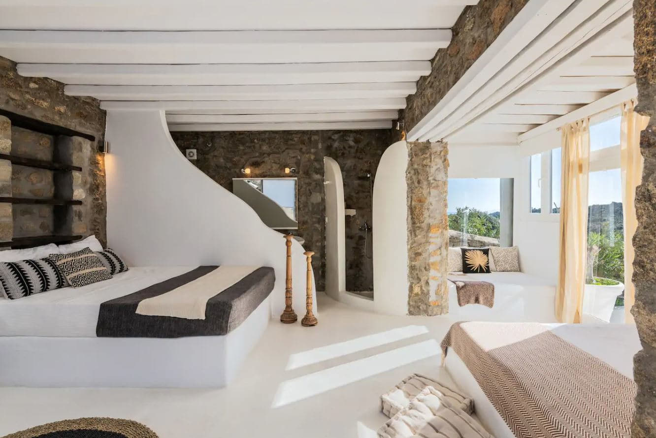2. Stunning Villa With Access To A Private Beach