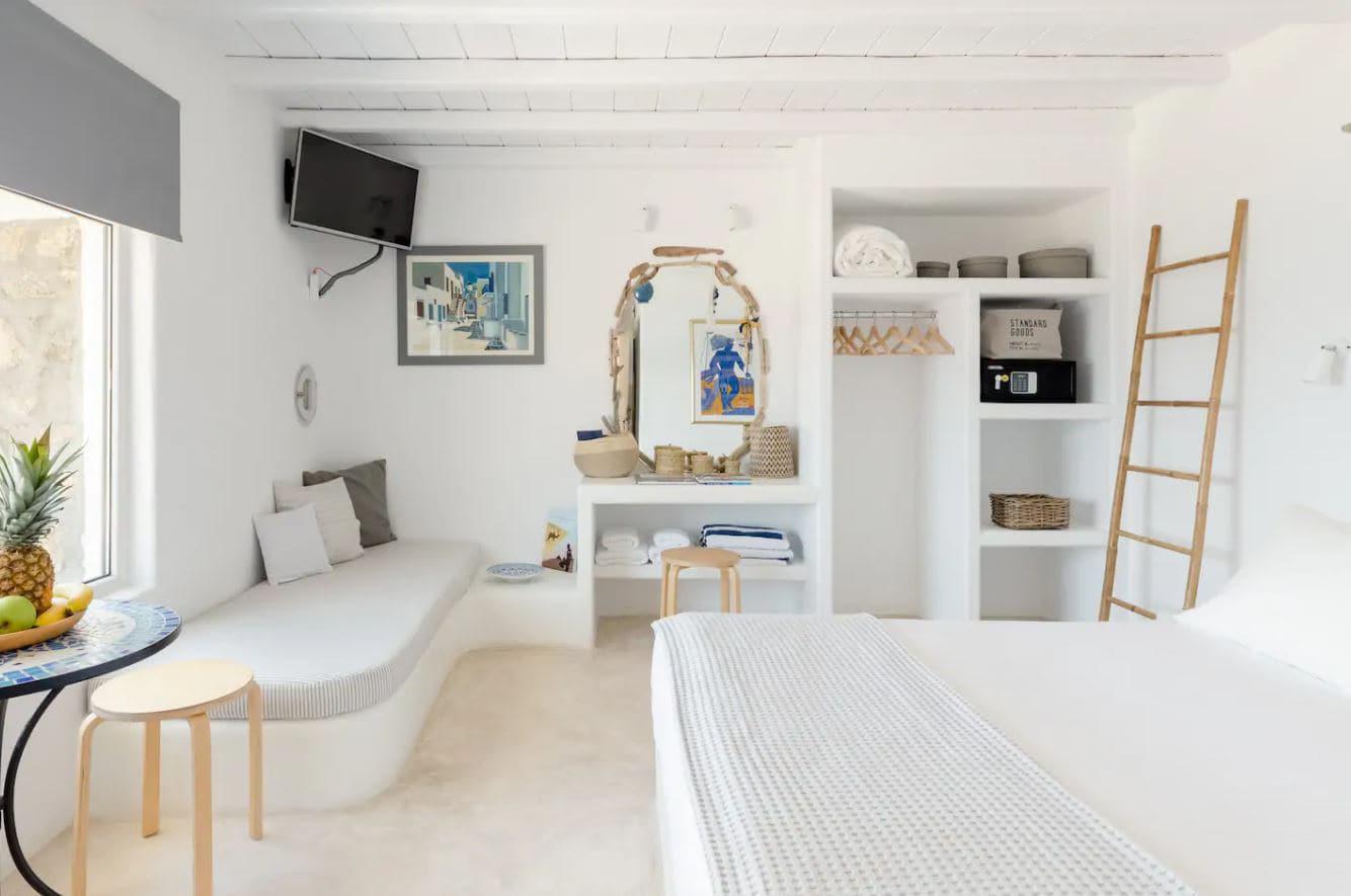 23. Charming Stone Cottage Mykonos Airbnb Apartment