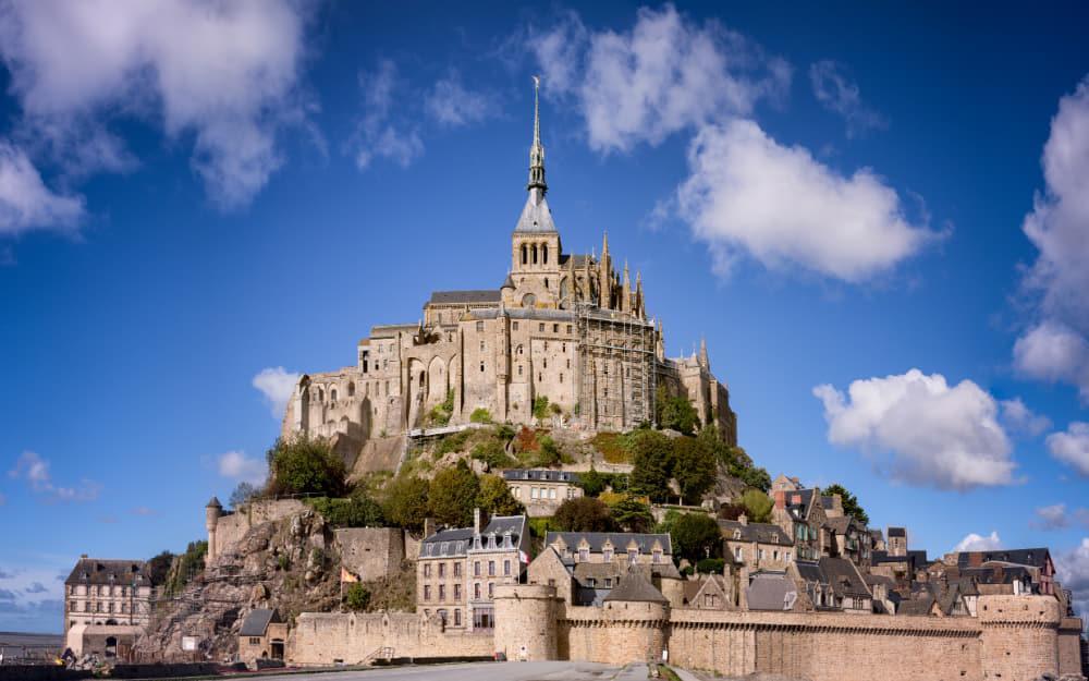24. Mont Saint-Michel - Famous landmark in France