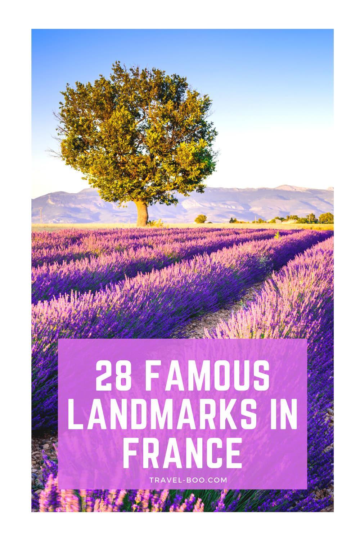 28 Top French Landmarks - Iconic Landmarks of France to Visit! France Travel, France Landmarks, French Landmarks, France Travel Itinerary, Places to visit France, France Travel Tips.