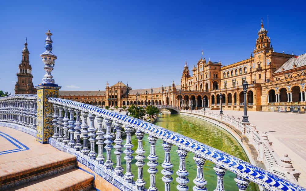 3 days in Seville itinerary - Plaza de Espana