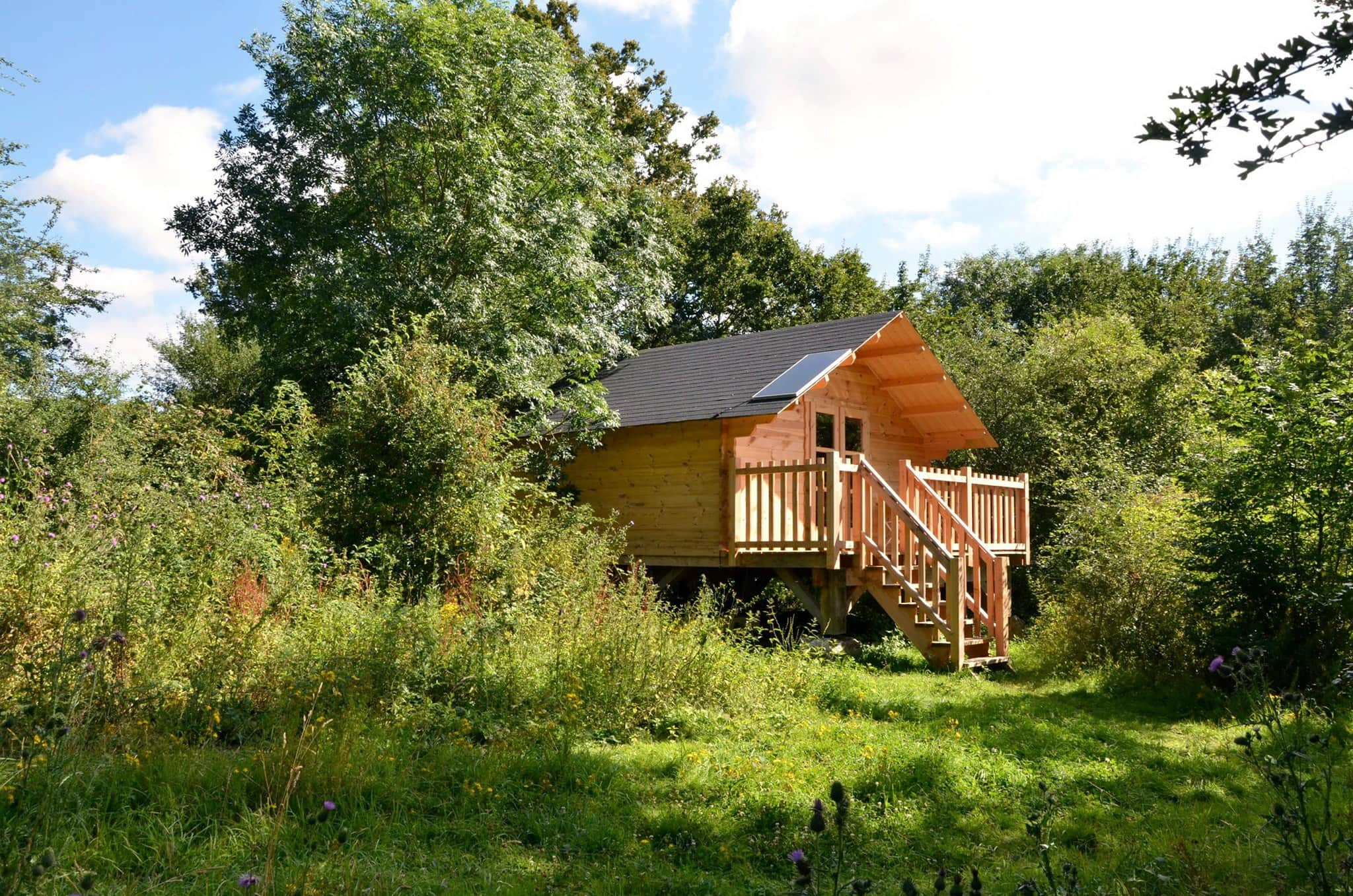 3. Echologia - Forest Cabin - France Glamping