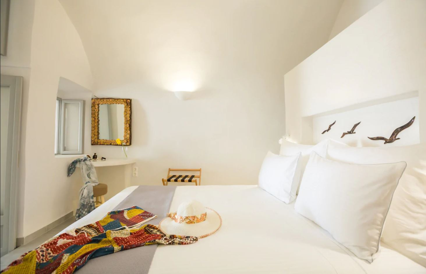 3. Luxury Cave Villa with Jacuzzi and Stunning Views - Santorini Airbnb