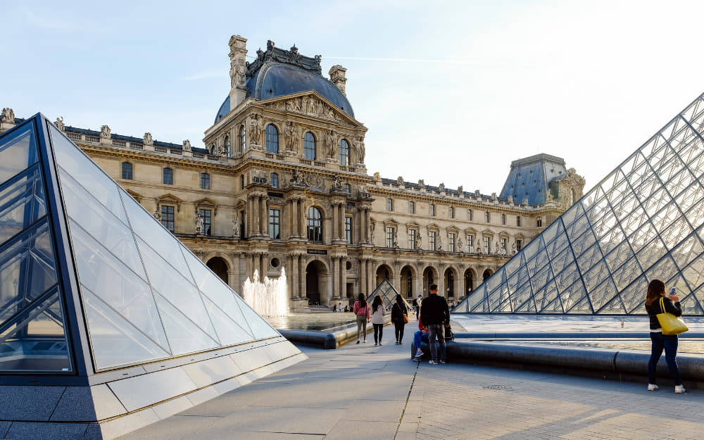 3. The Louvre in Paris