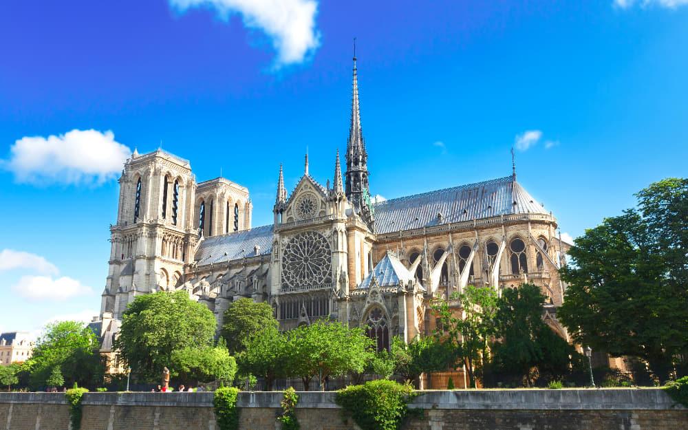 4. Notre Dame in Paris