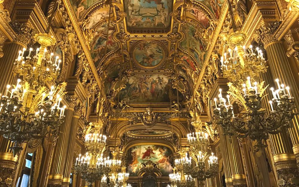 5. Palais Garnier - famous buildings in France