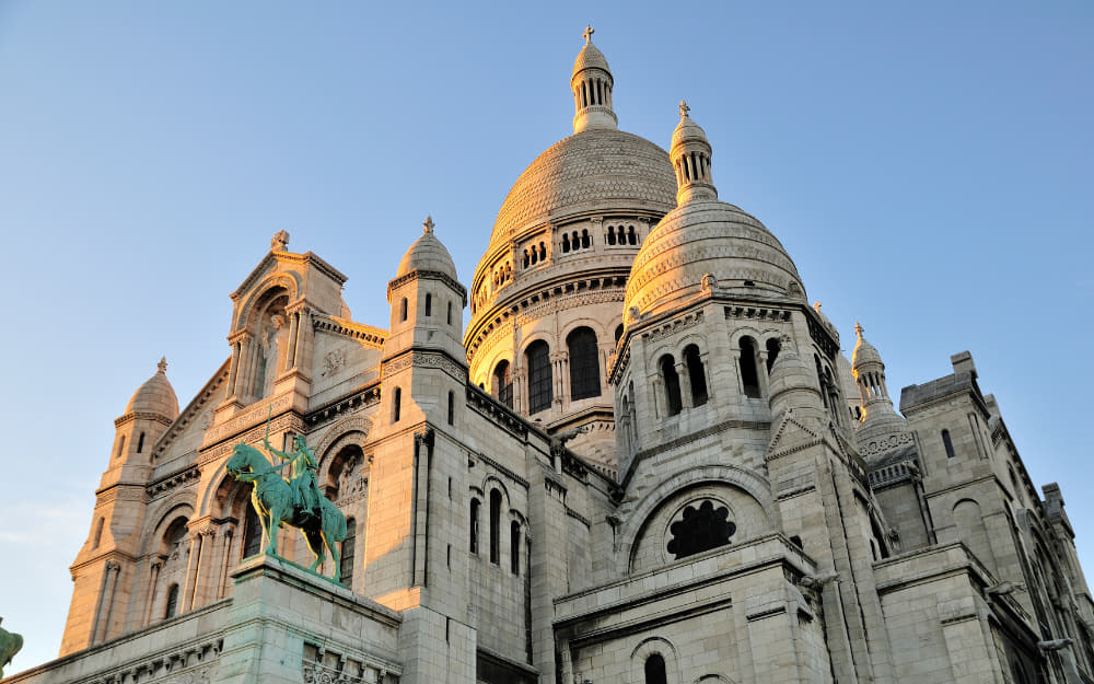 7. Sacré-Cœur - Famous Landmarks in France