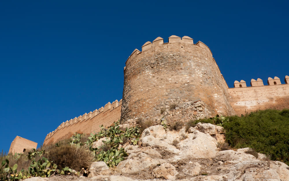 Alcazaba of Almeria © Photo by Brigida_Soriano from Canva