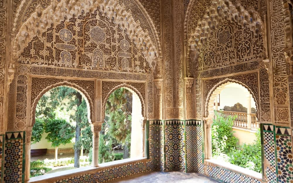 Alhambra - Landmarks in Spain