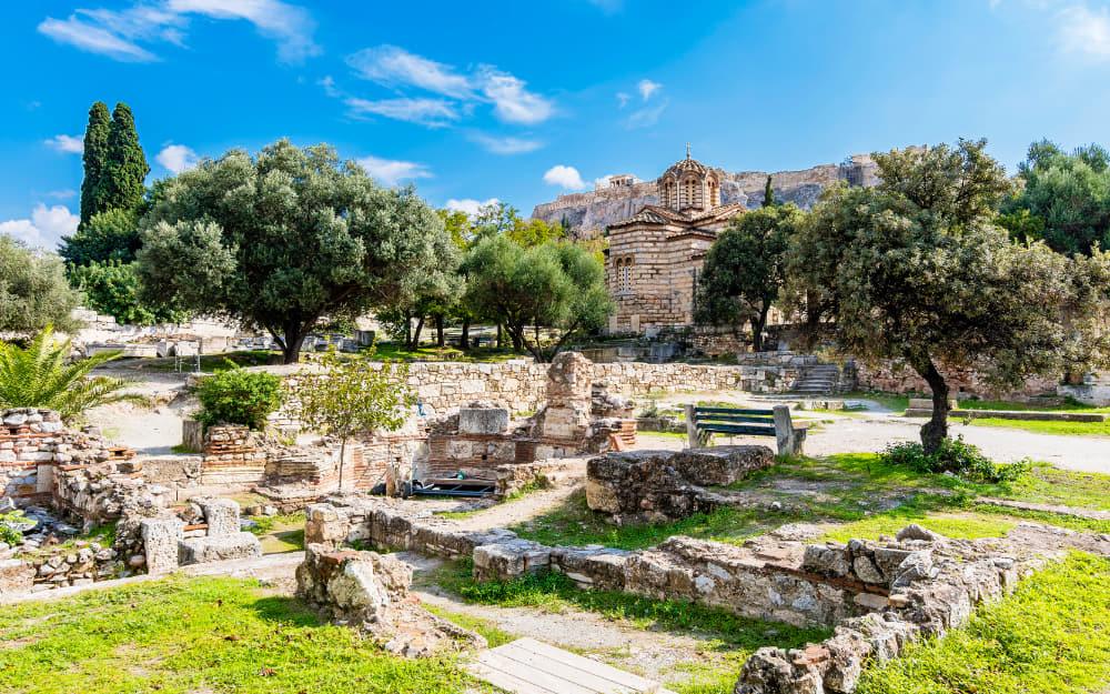 Ancient Agora - Athens Landmark