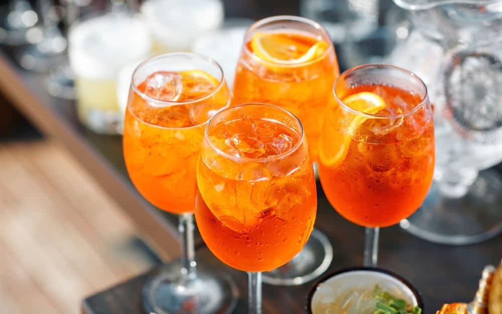 Aperol Spritz - Italian Cocktails
