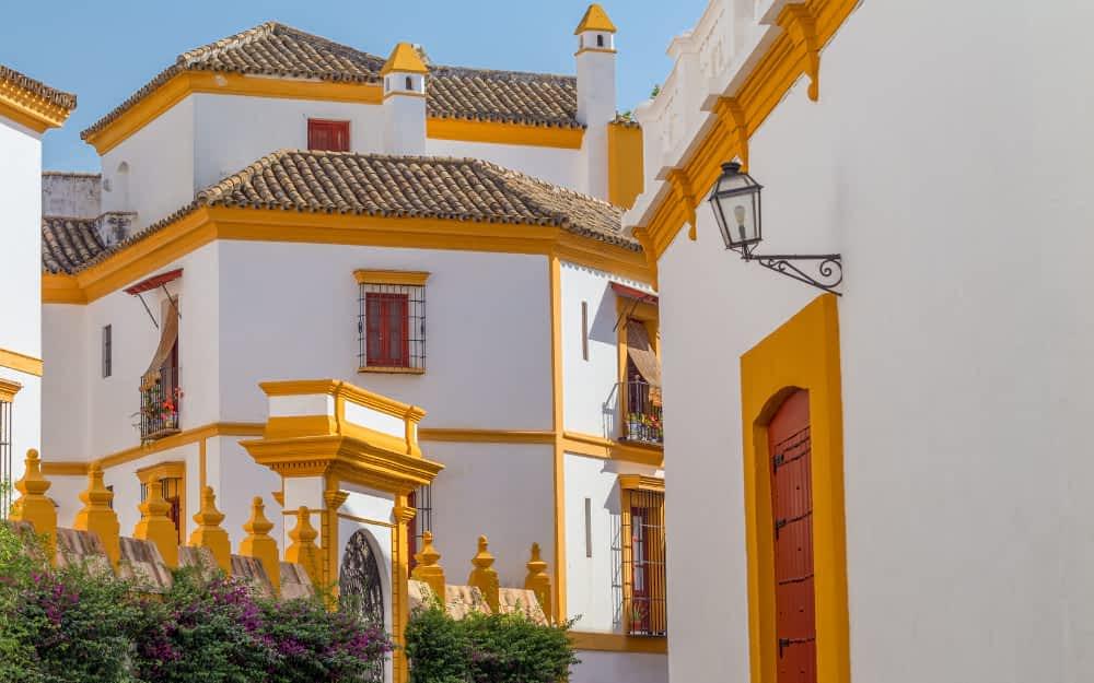 Best area to stay in seville - Bairro Santa Cruz Seville