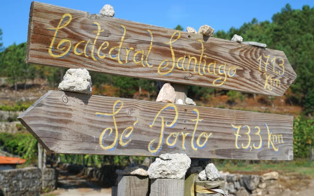Camino de Santiago - Camino Portugal Route