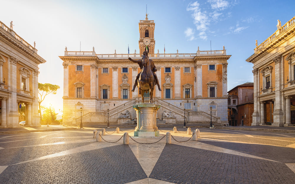 Capitoline Museums Rome - two days in Rome