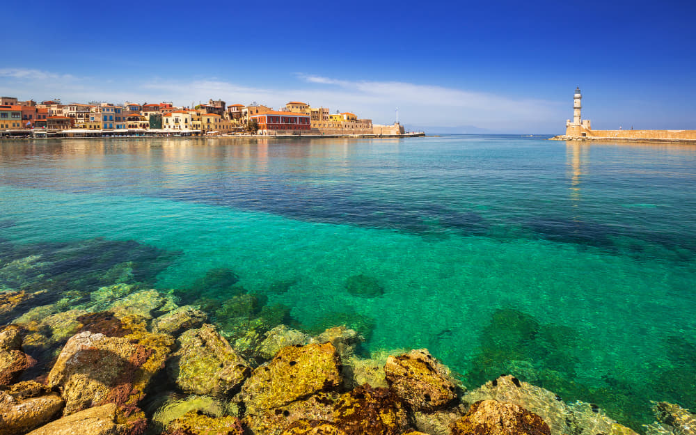 Chania Harbour View
