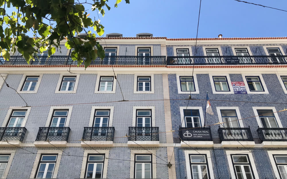 Chiado Architecture - Cost of Living in Lisbon - Photo by ©Travel-Boo