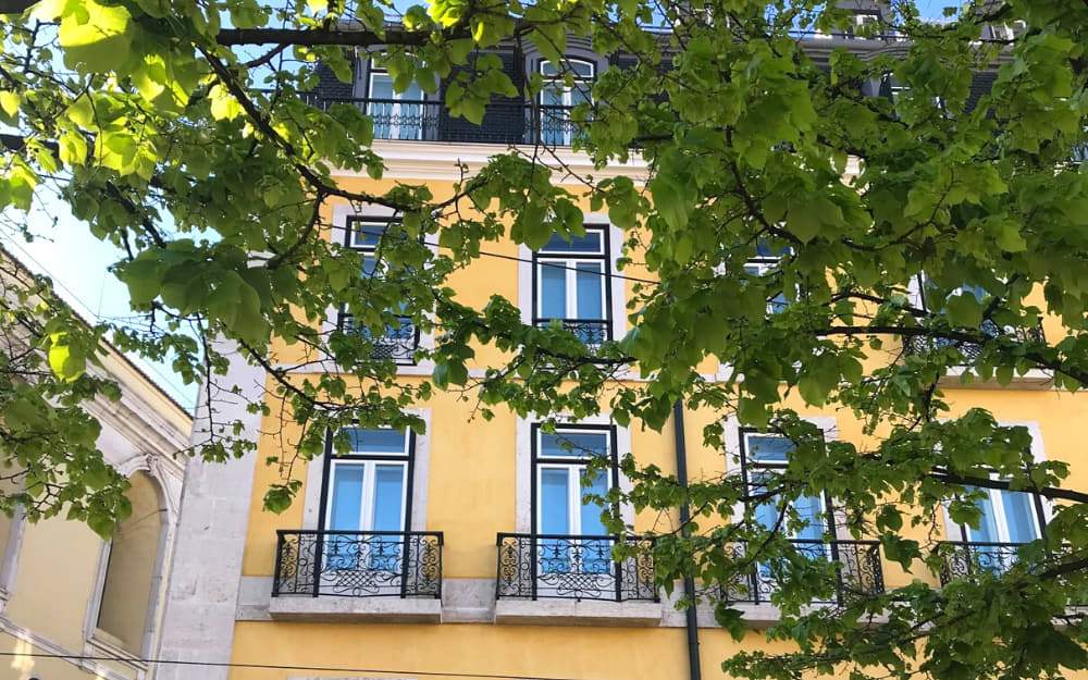Chiado Building - Living in Portugal - A Checklist for Moving to Portugal - Photo by ©Travel-Boo