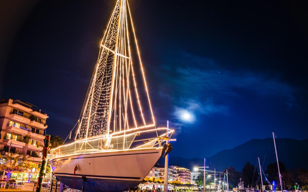 Decorated Christmas Boats (Karavaki) - Greece Christmas Traditions