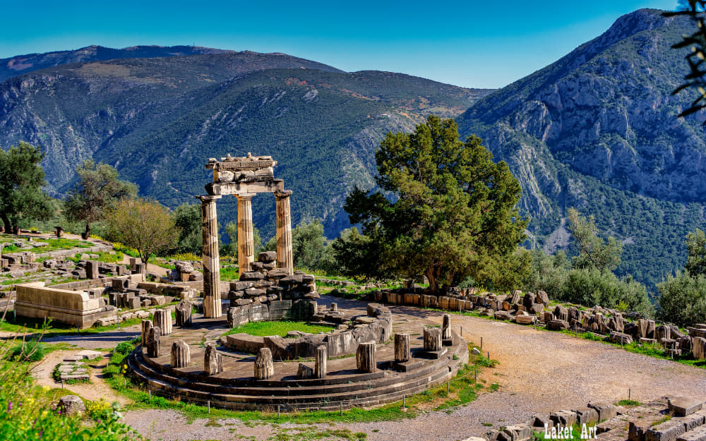 Delphi Archaeological Site - ancient greek landmarks