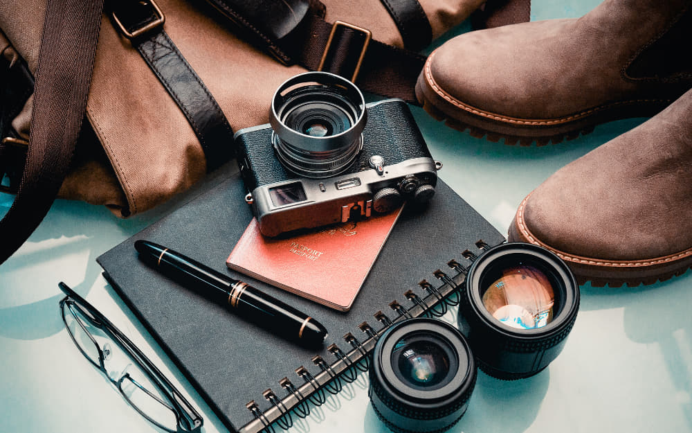 Europe Travel Essentials - Europe Packing List - Accessories - © Photo by rosleymajid from Canva
