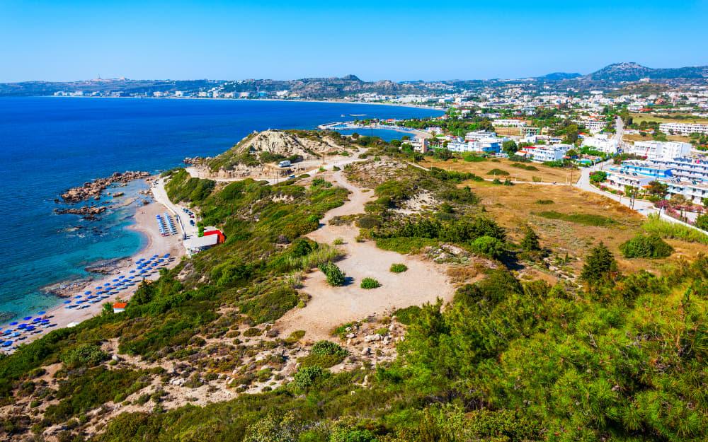 Faliraki Rhodes Beach