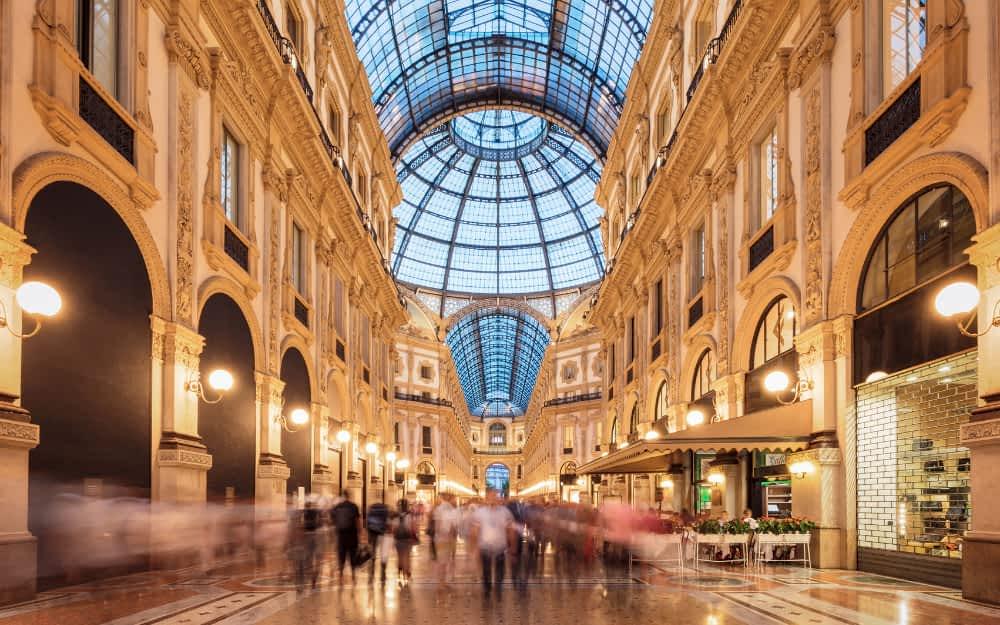 Galleria Vittorio Emanuele II - 1 Day Milan Itinerary