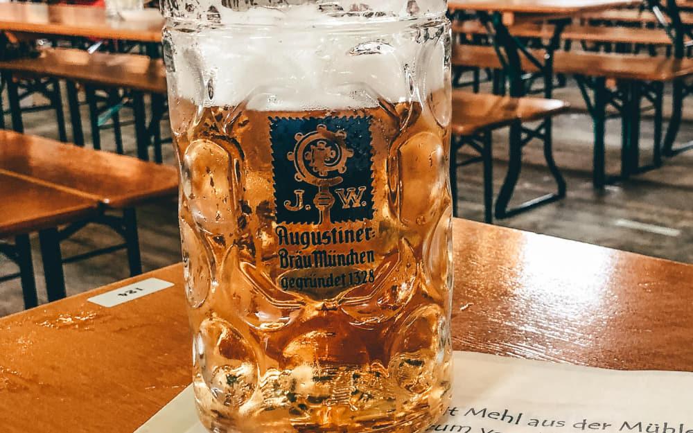 German drinks - Radler - © Photo by Travelling Thirties