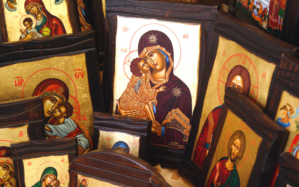 Greek Religious icons souvenirs
