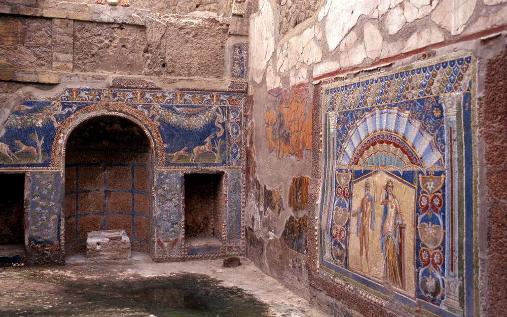 Herculaneum - Italian Landmarks