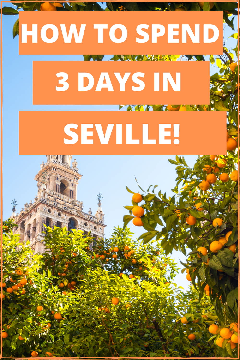 The Ultimate 3 Days in Seville Travel Itinerary! Planning to visit gorgeous Sevilla? Don't miss out on this Seville Itinerary. Seville Travel Guide, Seville Spain, Seville Travel Things to do, Spain Travel Itinerary, Seville Travel Tips, Spain Travel Tips, Spain Travel Guide. #sevillespain #sevilletravel #seville