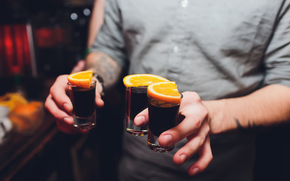 Jagermeister shots - German Liqueur - © Image Courtesy of Vershinin from Getty Images by Canva