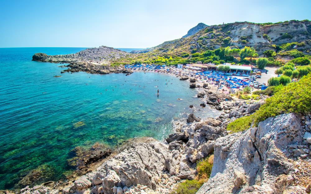 Ladiko Beach, Rhodes