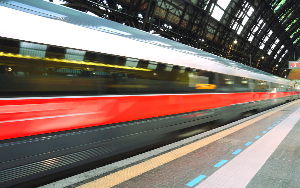 Milan to Florence train