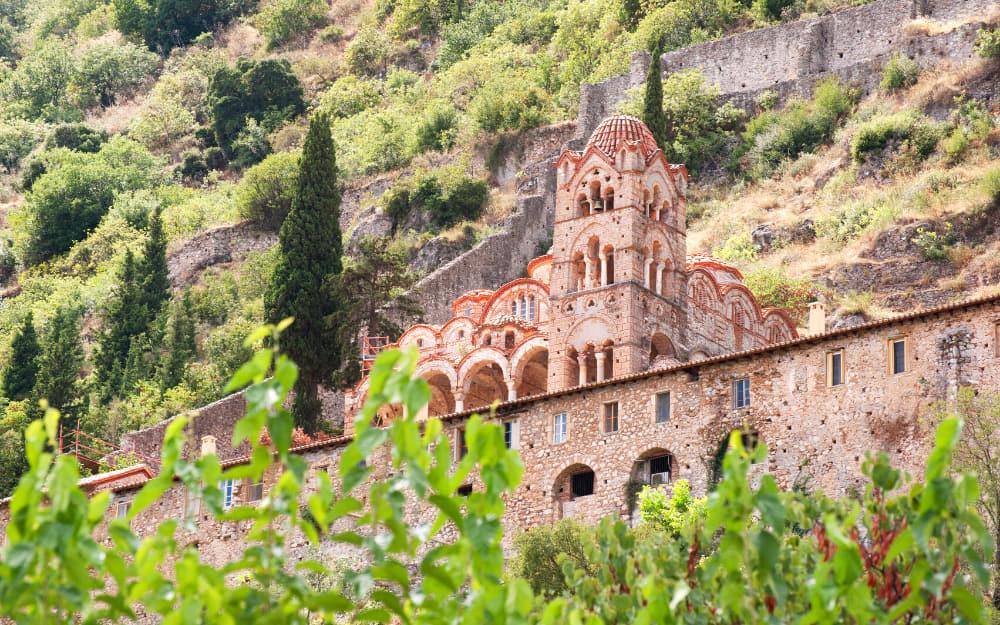 Mystras - ancient greek monuments
