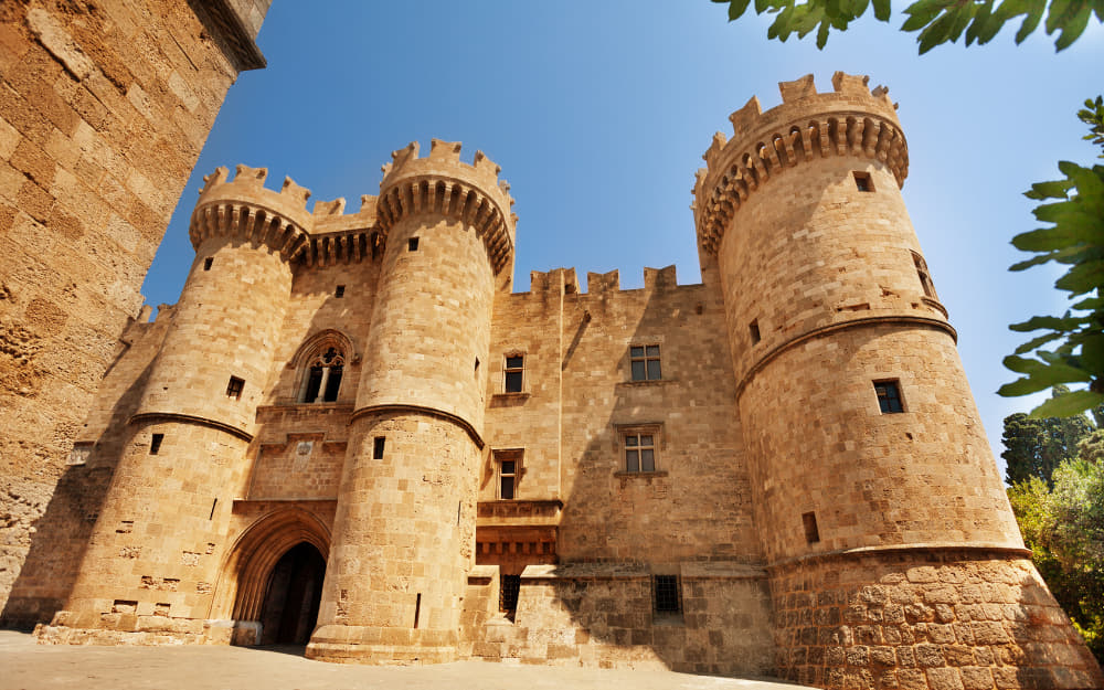 Palace of the Grand Master of the Knights in Rhodes- Landmarks Greece