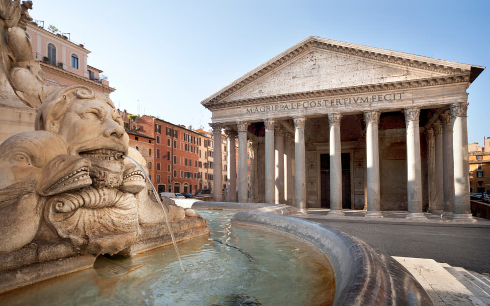 Pantheon in Rome - landmarks of Rome