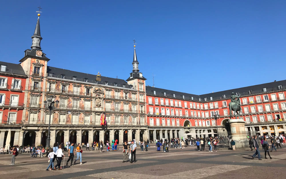 Plaza Mayor in Madrid - © Photo by Travel-Boo