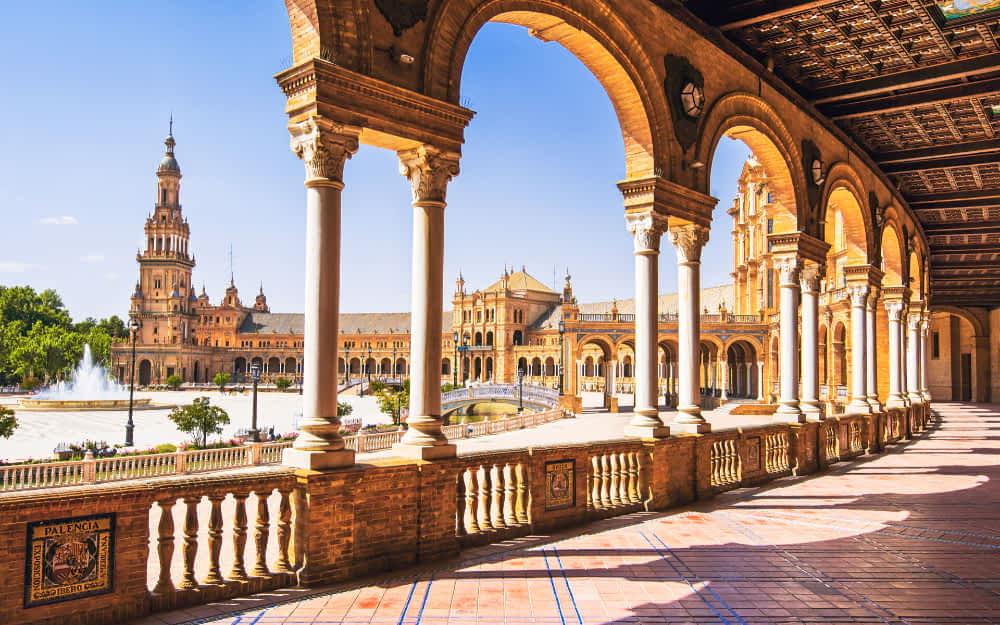 Plaza de Espana Seville - Spain Landmarks