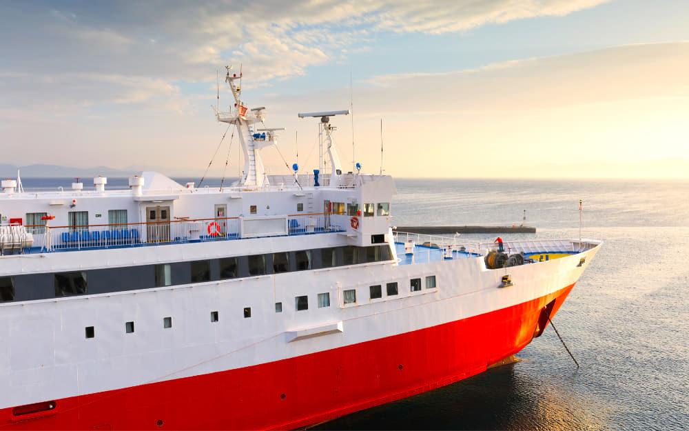 Santorini to Athens ferry