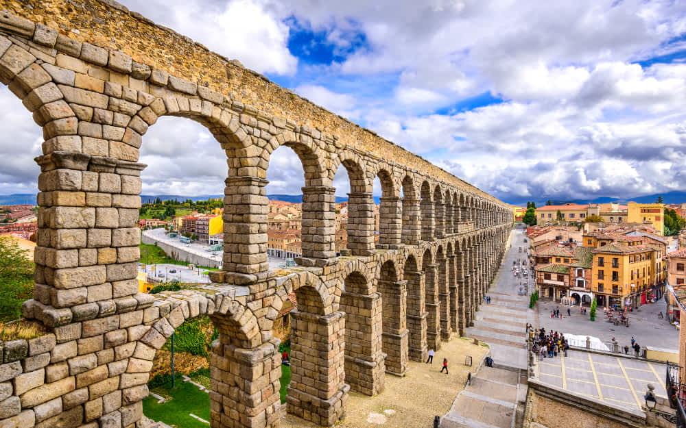 Segovia Aquaduct - spain historical sites