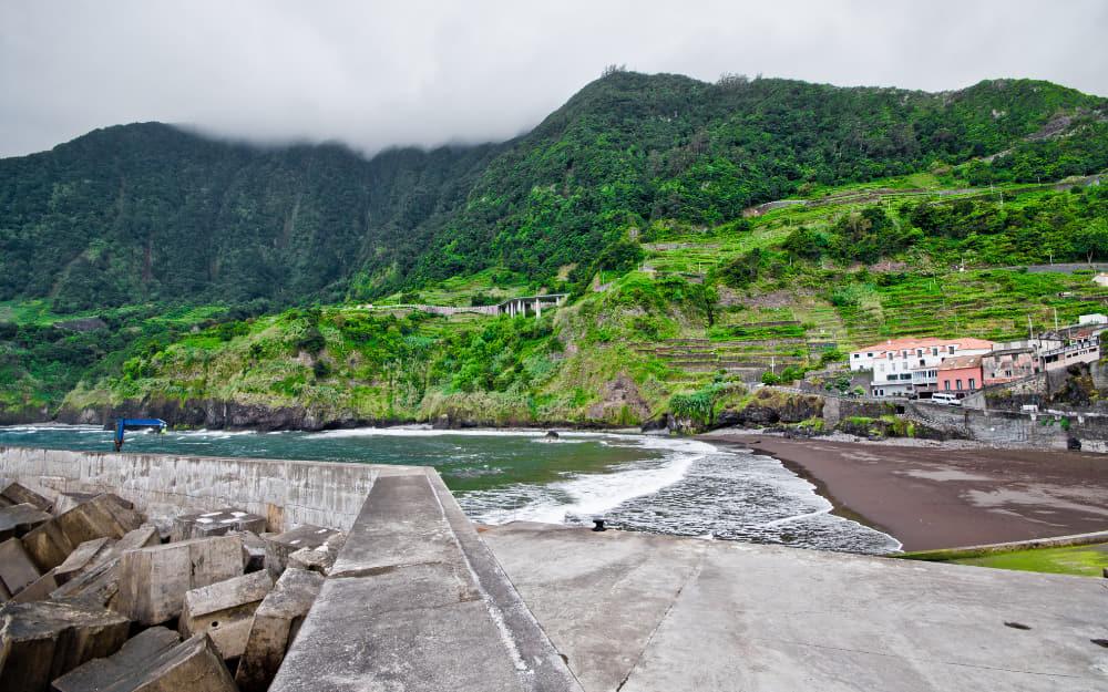 Seixal Beach in Madeira