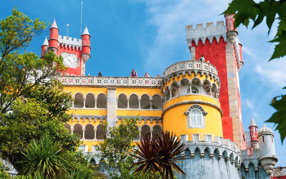 Sintra - Pena Palace - © Image Courtesy of Travel-Boo