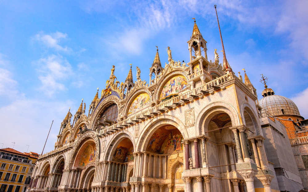 St. Marks Basilica in Venice