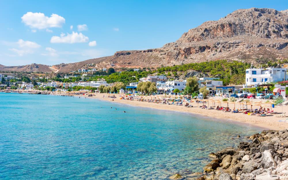 Stegna Beach in Rhodes