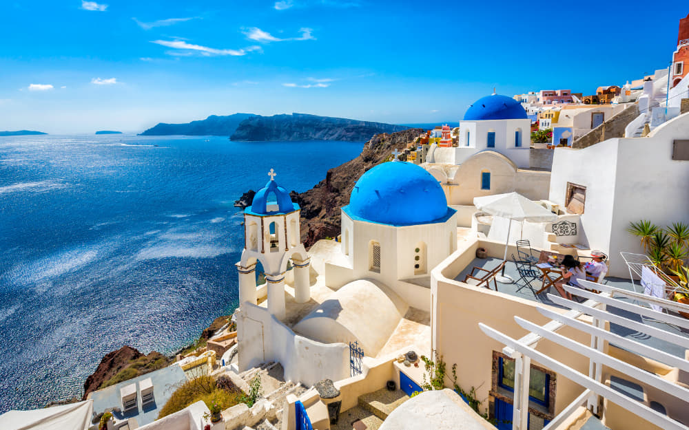 Tempting Santorini Quotes