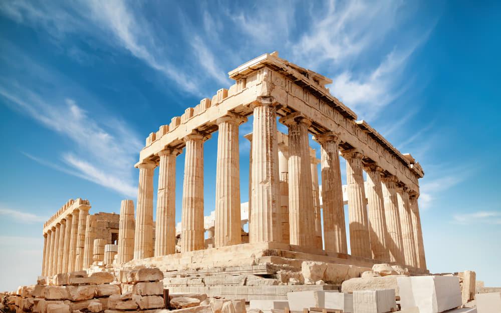 The Acropolis of Athens - famous greece landmarks