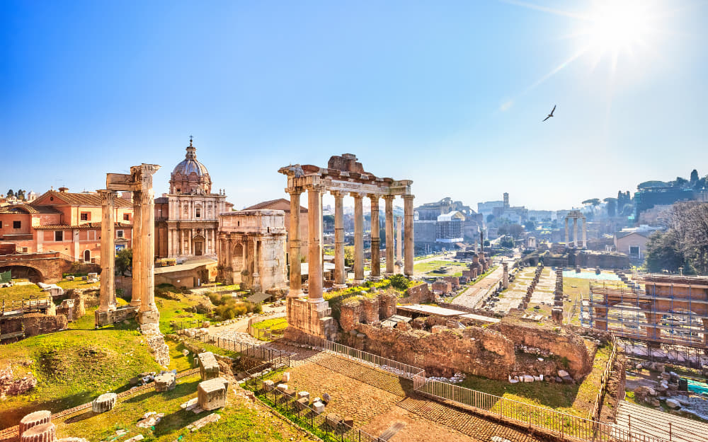 The Roman Forum - where to stay in Rome