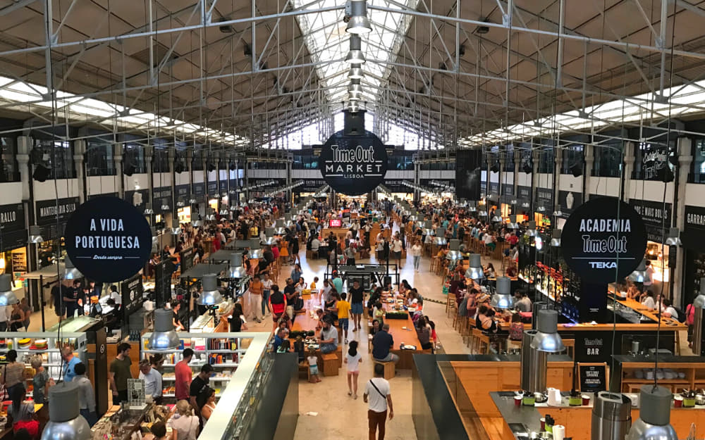 TimeOut Food Market in Lisbon - Photo by ©Travel-Boo
