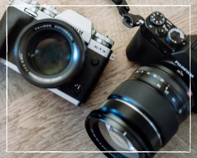 Travel Camera © Image Courtesy of Fujifilm North America from Pexels by Canva